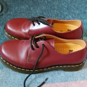 Oxblood Dr Martens Shoes
